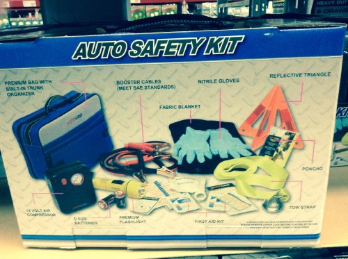 justincase auto safety kit - 5
