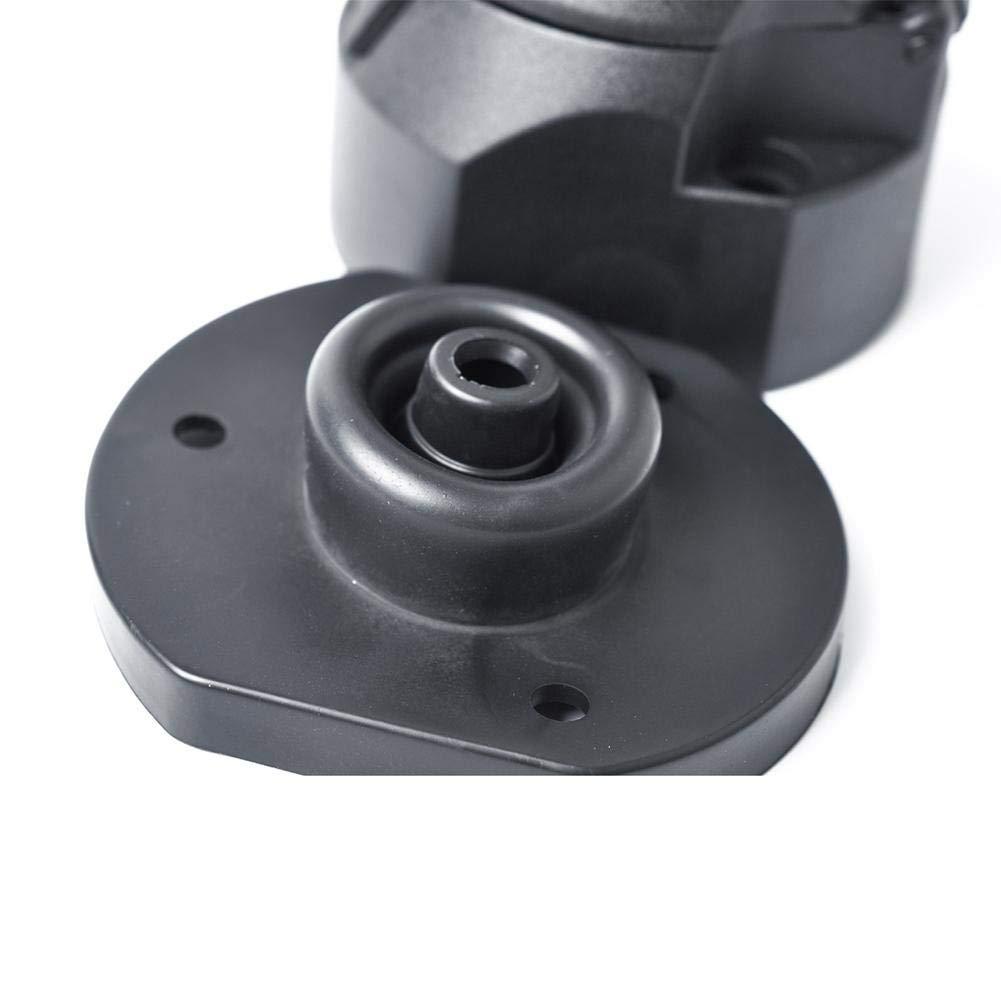 12V 7-Pin Conector plano Enganche Carro Caravana Adaptador el/éctrico Convertidor Enchufe Remolque Caravana Adaptador el/éctrico Enganche de remolque Enchufe de la UE Con anillo de goma impermeable