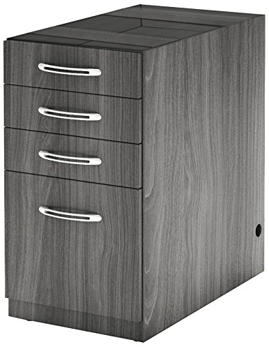 Mayline APBBF20LGS Aberdeen 20''D Credenza Pedestal PBBF for use with Credenza, Return, Extended Corner, sold separately, Gray Steel Tf by Safco Products (Image #1)