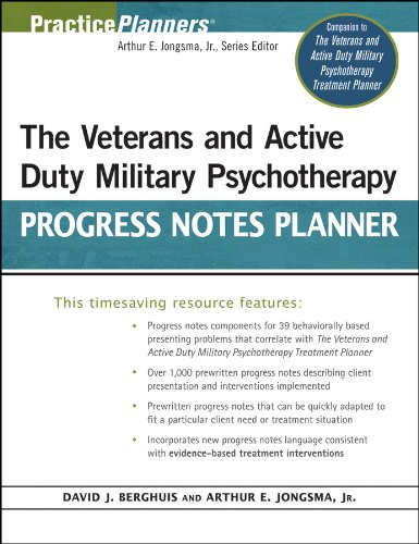 The Veterans and Active Duty Military Psychotherapy Progress Notes Planner (Treatment Planner Work Social)