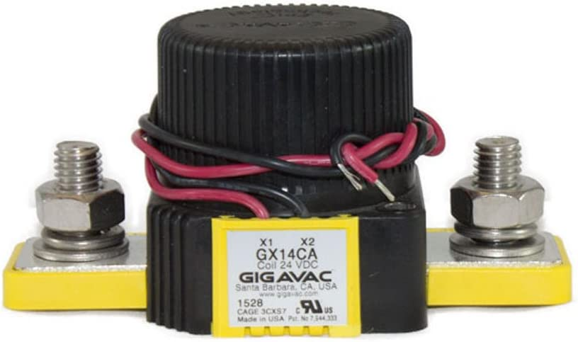 350 24 Vdc Coil Amps Gigavac GX14CA Contactor