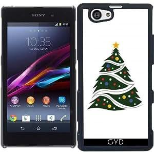 Funda para Sony Xperia Z1 Compact - árbol De Navidad by Adamzworld