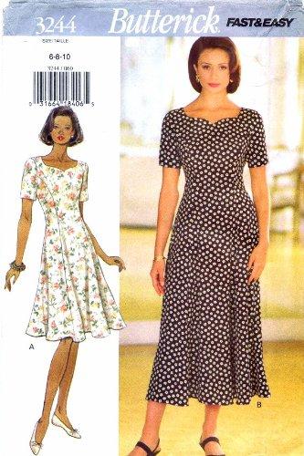Princess Seam Dress Pattern - 5