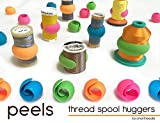 Arts & Crafts : Peels thread Spool Huggers, Keep Thread Tails Under Control Preventing Unwinding (12 Pieces)