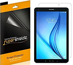[3-Pack] Supershieldz for Samsung Galaxy Tab E 8.0 inch Screen Protector, Anti-Bubble High Definition Clear Shield -Lifetime Replacements Warranty