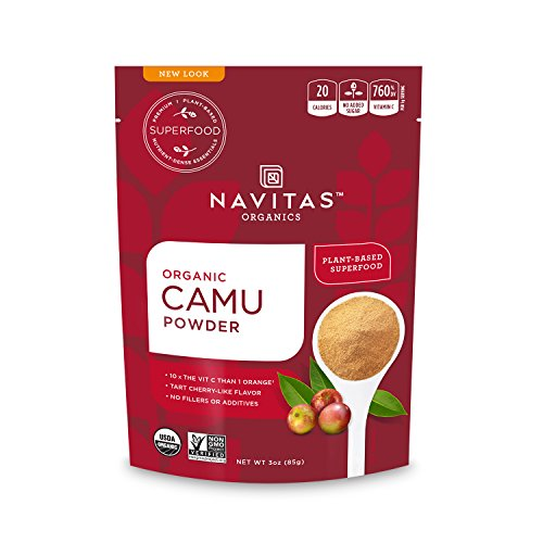 Navitas Organics Camu Camu Powder, 3 oz. Bag