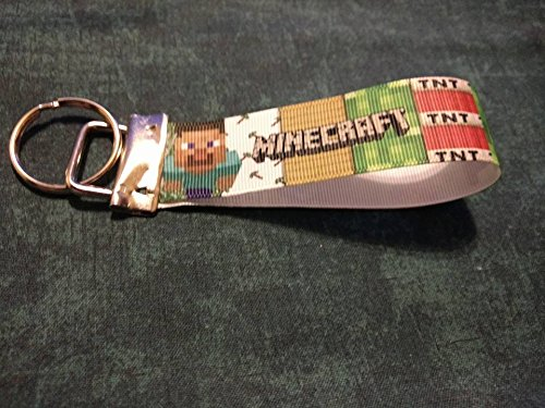 Minecraft TNT key chain