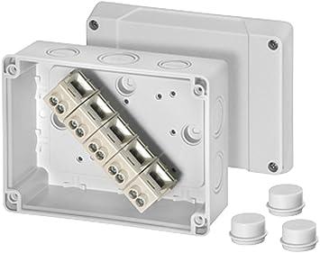 Hensel enycase - Caja derivación k9105 4/10-16mm2 bornas: Amazon.es: Bricolaje y herramientas