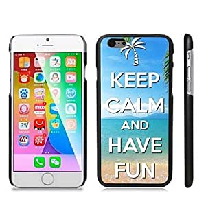QJM Stylish Patterned Hard Plastic Snap On Case for iPhone 6