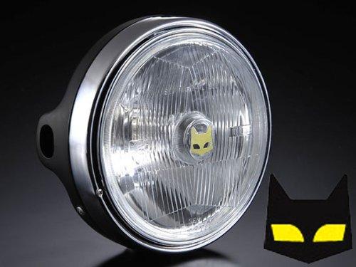 (マーシャル) ヘッドライト 889 ドライビングランプフルキット クリアレンズ ブラックケース KAWASAKI カワサキ Z-I/II FX系 800-8009 B005DOXYTC