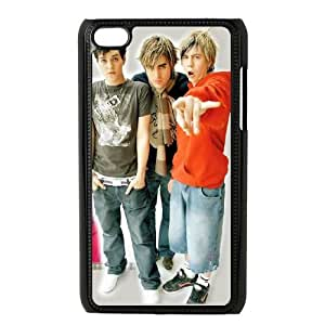 iPod Touch 4 Case Black Busted gcmp