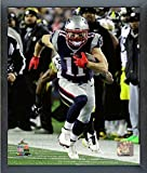 "Exhibition Quality 11x14 Photograph Professionally Produced in State of the Art Photographic Lab. Fully Licensed NFL Collectible with Uniquely Numbered NFL Licensing Hologram Attached. Framed Open Faced (No Glass or Plexi-Glass) in 1/2"" Black..."