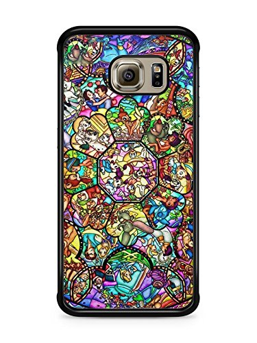 coque galaxy s6 edge princesse