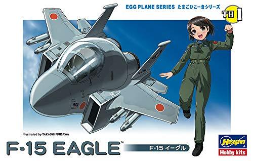 9299292bf253f Hasegawa 60101 F-15 Eagle, Egg Plane Series Airplane Model Kit