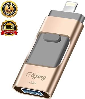 E&jing 128GB 3-in-1 USB 3.0 Flash Drive