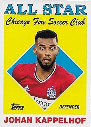 huge selection of 0874a e1392 Amazon.com: 2018 Topps MLS Soccer All-Star #AS-JK Johan ...