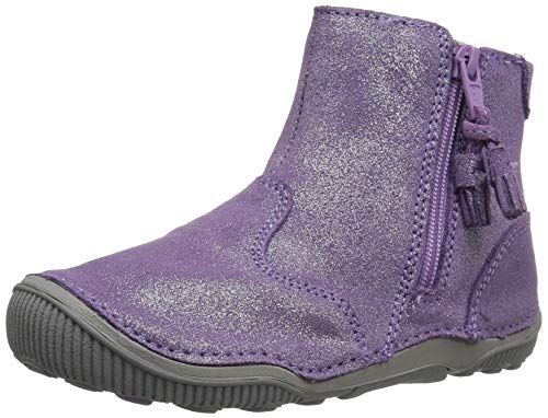 Stride Rite Girls' SRT Zoe Ankle Boot, Light Purple, 9 M US Toddler -