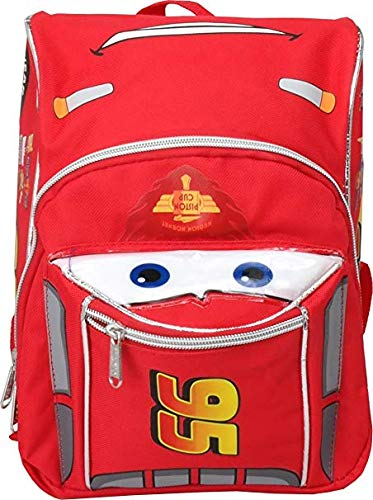 (Pixar Cars Lightning McQueen Shape 10 inches Mini Backpack)