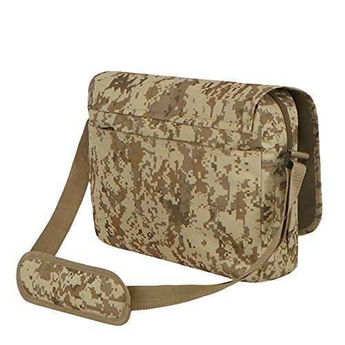 East West U.S.A MC102Tactical camouflage digitale Classic messenger bag
