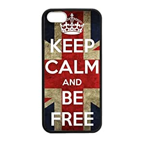 Custom Be Free Design Personalized Custom Hard Case for iPhone 4 4s Durable Case Cover