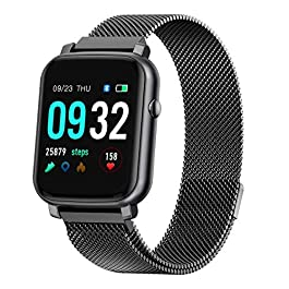 Anmino Smart Watch with Heart Rate Monitor Smart Watch Android Phone Fitness Tracker IP68 Waterproof Activity Tracker…