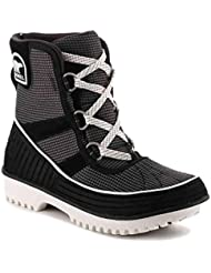 SOREL Womens Tivoli II Go Boots, Black/Sea Salt