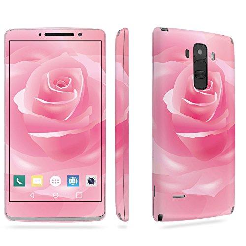 LG [G Stylo] Phone Skin - [SkinGuardz] Full Body Scratch Proof Vinyl Decal Sticker with [WallPaper] - [Rose-Pink] for LG [G Stylo] [LS770 H631] -  SF-LGLS770-T5-MA-X114
