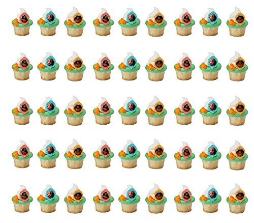 Moana Voyagers Cupcake Rings - 48 pc (2)