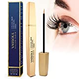 VASSOUL Eyelash Growth Enhancer & Brow Serum, Natural and Powerful for Long, Luscious Lashes and Eyebrows