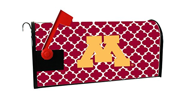 Minnesota Gophers Moroccan Pattern Magnetic Mailbox Cover