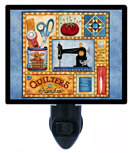 (Night Light, Quilters Friend, Sewing Machine, Thread)