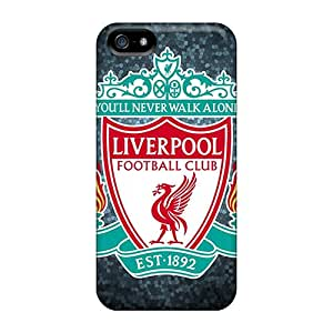 Ultra Slim Fit Hard StylishCase Case Cover Specially Made For Iphone 5/5s- Liverpool Fc