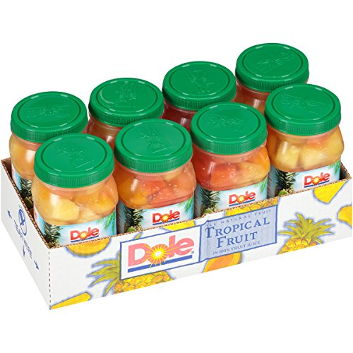 - Dole Tropical Fruit, 23.5 Ounce Jars (Pack of 8)