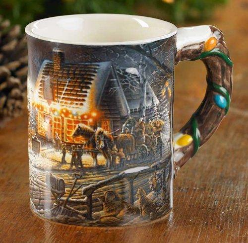 (Sweet Memories Sculpted Mug by Terry Redlin)