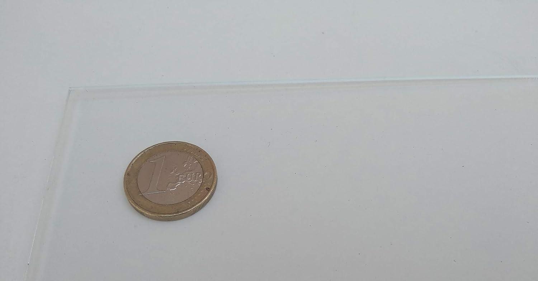 Lamina pl/ástico Tama/ño A5 DINA5 Plancha Metacrilato traslucido - Metacrilato transparente varios tama/ños Placa acr/ílico transparente Hoja de pl/ástico acr/ílico transparente 3mm 148 x 210 mm