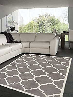 Sweet Home Stores Clifton Collection Red Moroccan Trellis Design Area Rug