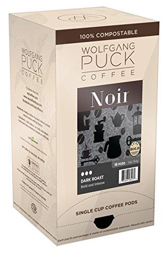 - Wolfgang Puck Coffee, Noir, 12 Gram Pods, 3 x 16 Count
