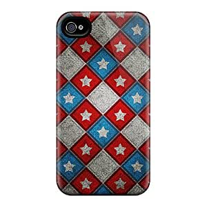 New CWT19523TQed Star Pattern Covers Cases For Case Samsung Galaxy Note 2 N7100 Cover