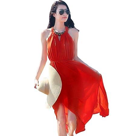 Falda de playa Vestidos Falda De Vacaciones Junto Al Mar Falda ...