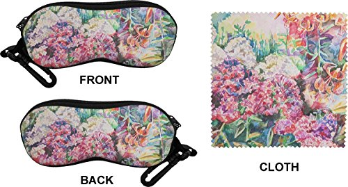 Watercolor Floral Eyeglass Case & Cloth (Personalized)