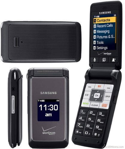 Verizon or PagePlus amsung Haven U320 CDMA Cell Phone Dark Grey New No Contract