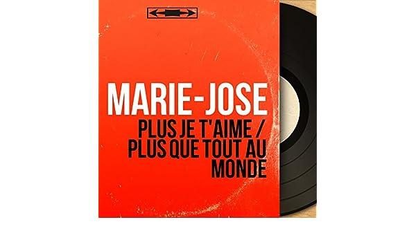 Plus Je Taime Plus Que Tout Au Monde Feat Jean Faustin