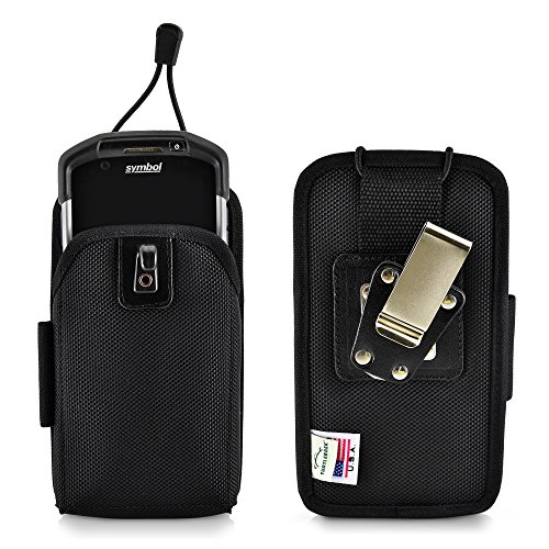 - Turtleback Mobile Computer Case Made for Zebra Motorola TC70 TC700H Touch Computer Nylon Holster, 2 Belt Clips (Metal Clip & Belt Loop) Scanner Holder Fits Devices 6 5/8