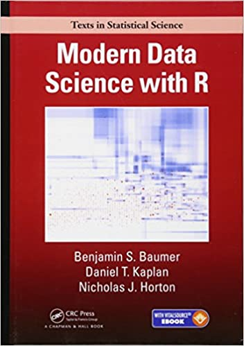 Modern Data Science with R: A review