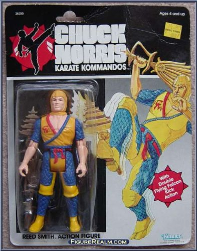 Chuck Norris Karate Kommandos Reed Smith 6 Action Figure (1986)