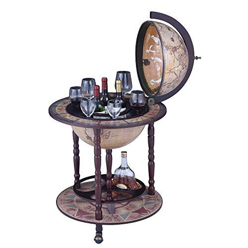 Nex Wine Cabinets Wood Globe Wine Bar St - 20