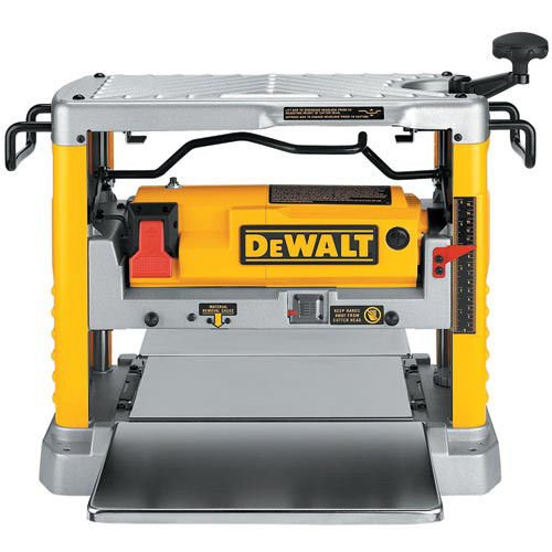 Factory-Reconditioned DEWALT DW734R Heavy Duty 12-1/2-Inch Thickness Planer with 3-Knife Cutter Head (Certified Refurbished) by DEWALT