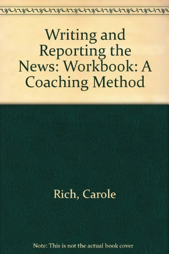 Download Workbook for Writing and Reporting News book pdf