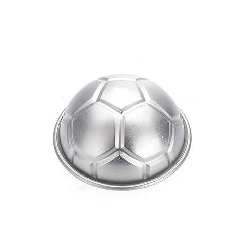 Fenghong Molde de la Torta, moldes de la Torta Sartenes para el Pan Creativo Fútbol