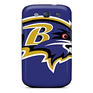 AlissaDubois Samsung Galaxy S3 Bumper Hard Phone Covers Support Personal Customs Nice Baltimore Ravens Pictures [dsv840Cnwq]